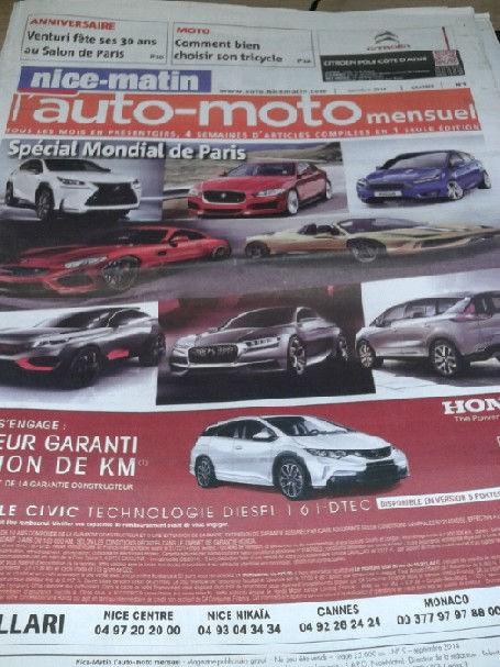 Les nouveautés françaises du salon de l'automobile 2014