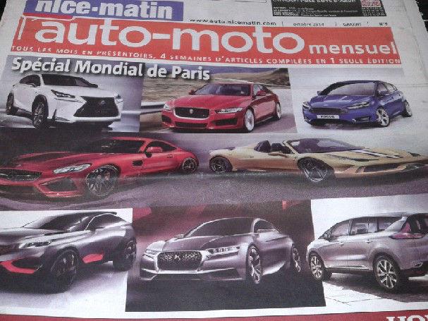 Le salon de l'automobile 2014 à l'international