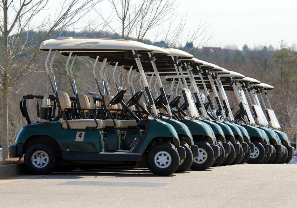 Focus sur les voiturettes de golf