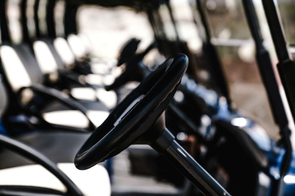 voiturette golf volant